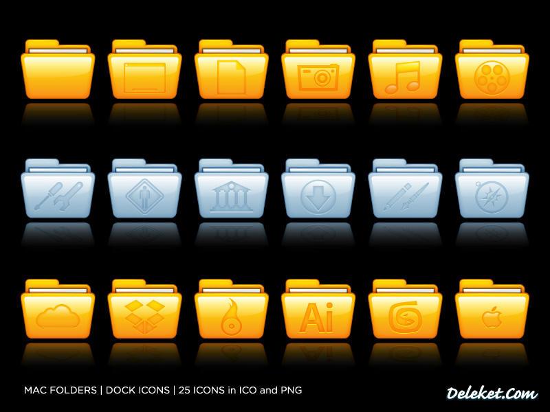 Mac Folders by deleket