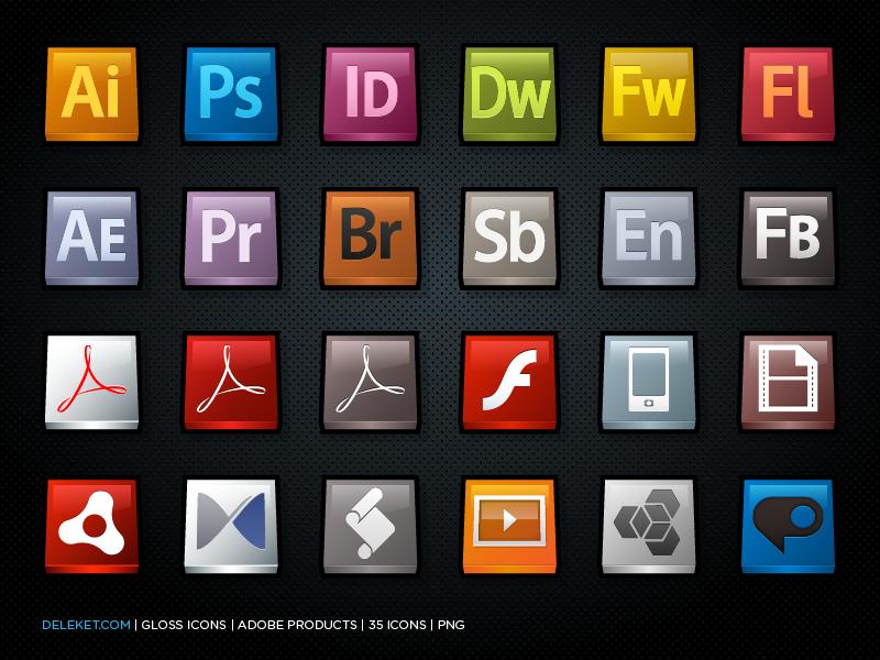 Gloss Adobe Products By Deleket On Deviantart