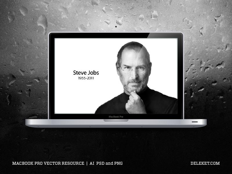 MacBook Pro Vector Resource by deleket