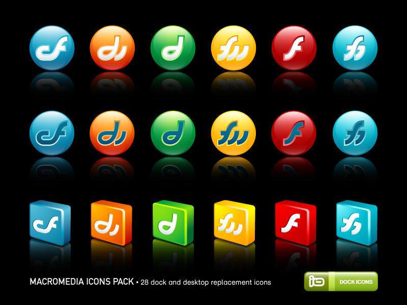 Macromedia Icons Pack by deleket