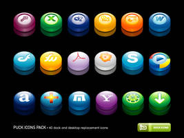 Puck Icons Pack by deleket