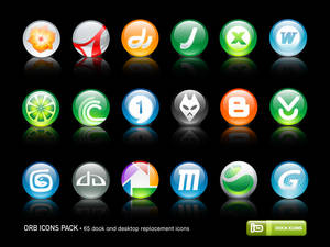 Orb Icons Pack