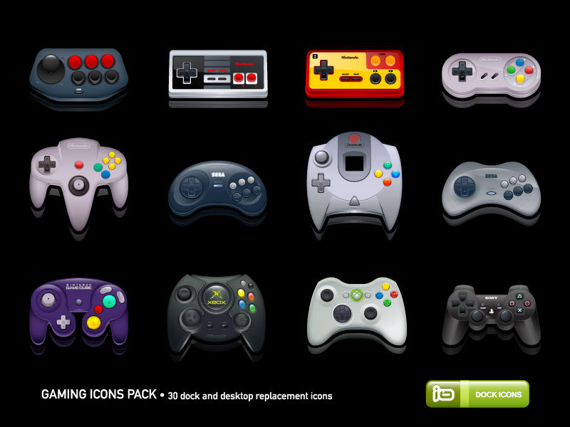 Gaming Icons Pack