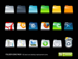 Folder Icons Pack by deleket