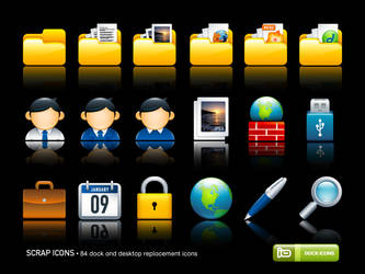 Scrap Icons by deleket