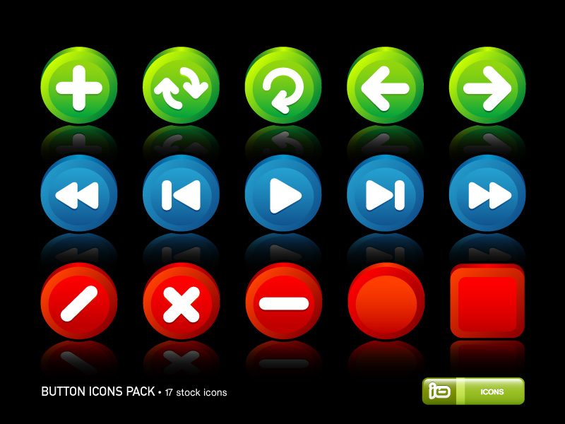 Button Icons Pack