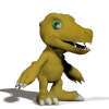 Agumon Poser Model Download by imago3d