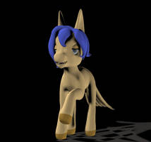 80's Style My Little Pony by imago3d