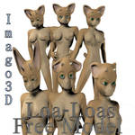 Loa-Loas Poser Model by imago3d