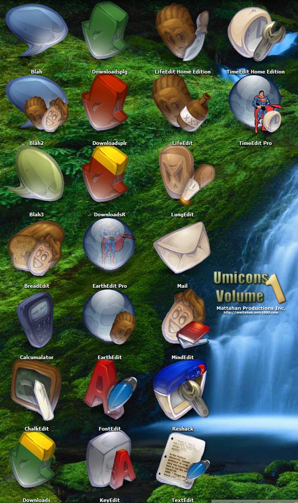 Umicons Volume 1