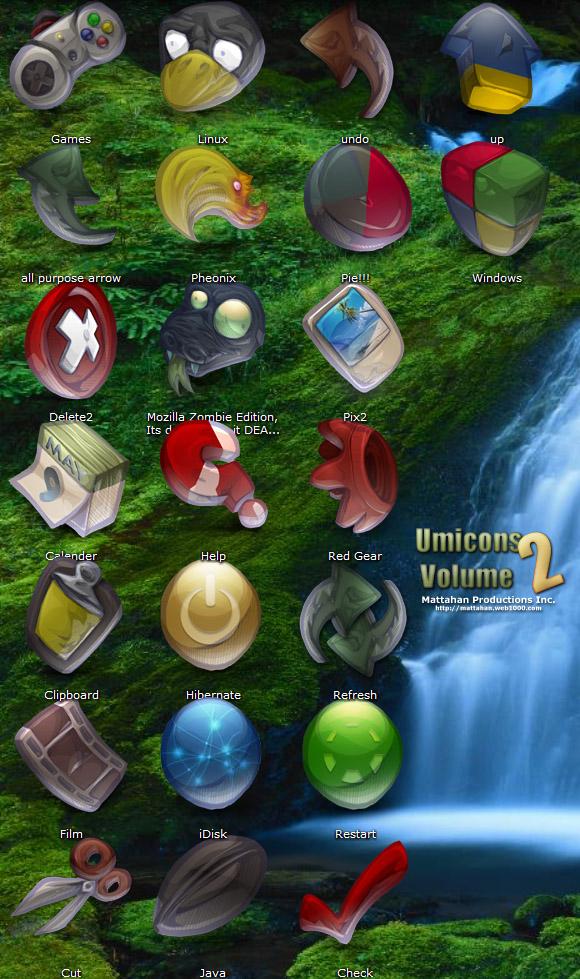 Umicons Volume 2