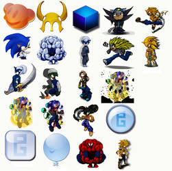 Mp Icons Pack 1