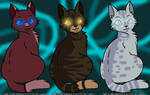 Warriors: Microberry, Skyheart and Greywing