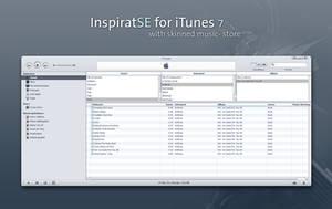 Inspirat SE skin for iTunes 7 by MrToNeR