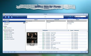 WMP 11 Skin for iTunes 7 by MrToNeR