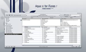 AquaSE skin for iTunes 7 by MrToNeR
