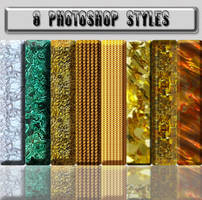 8 Photoshop styles by Umina