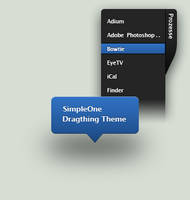 SimpleOne-Dragthing Theme by StefanKa