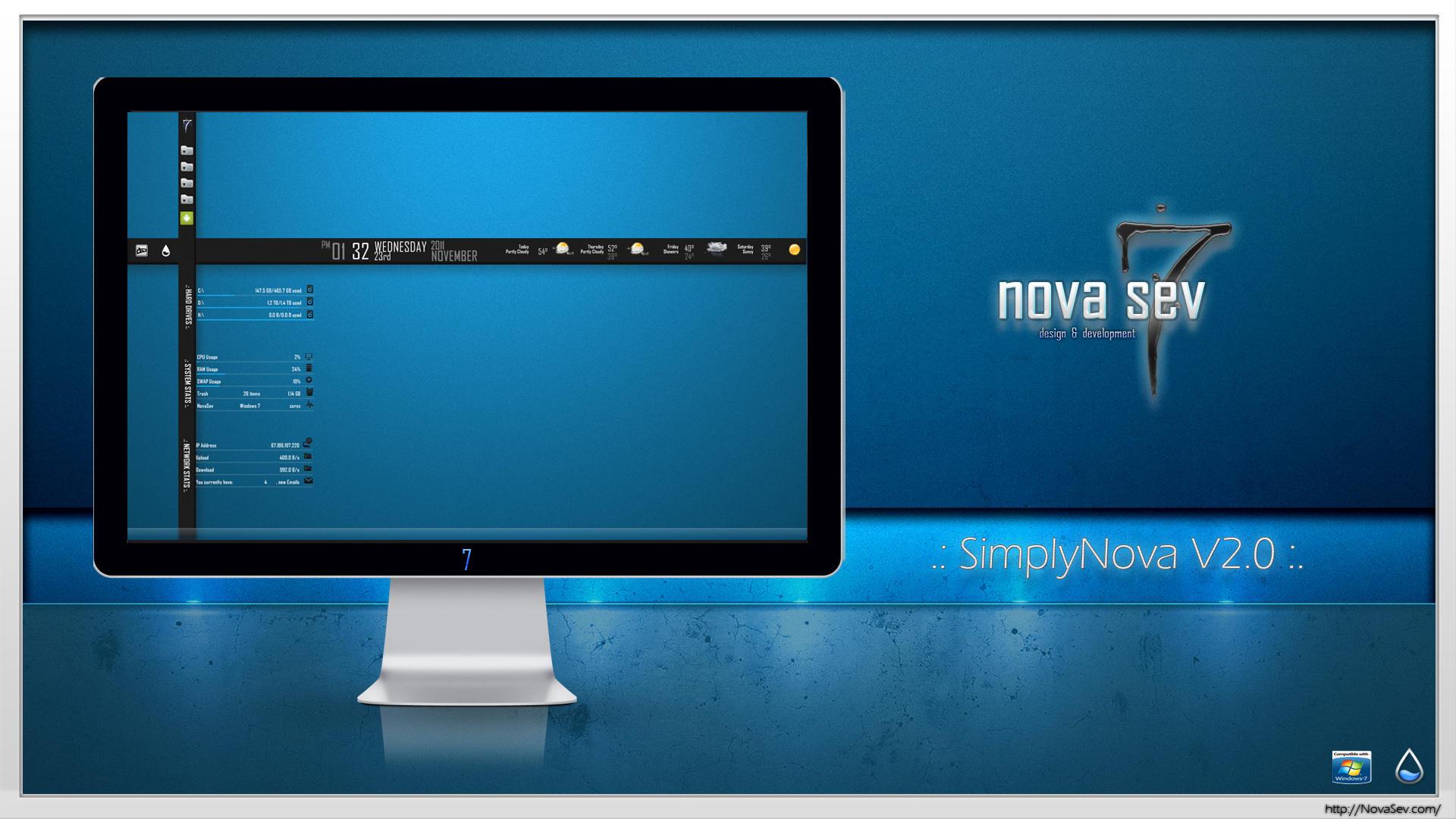 Simply Nova Ver. 2.0 by Nova-7-Sev-dd