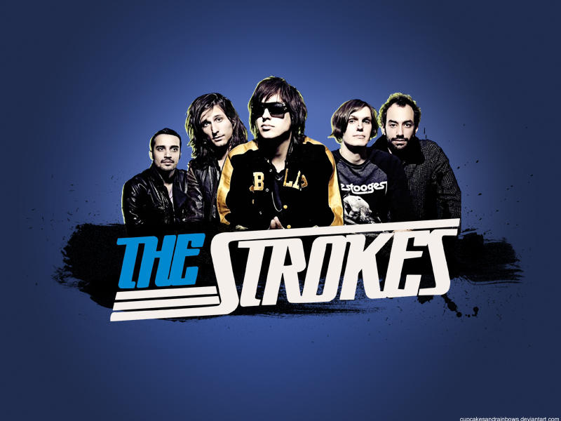 The strokes wallpaper by shi cake on deviantart the strokes wallpaper by shi cake thecheapjerseys Images