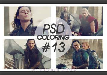 PSD - Coloring #13 by makokimakoki