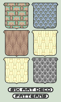 six deco patterns
