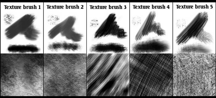 Gimp texture brush set 1