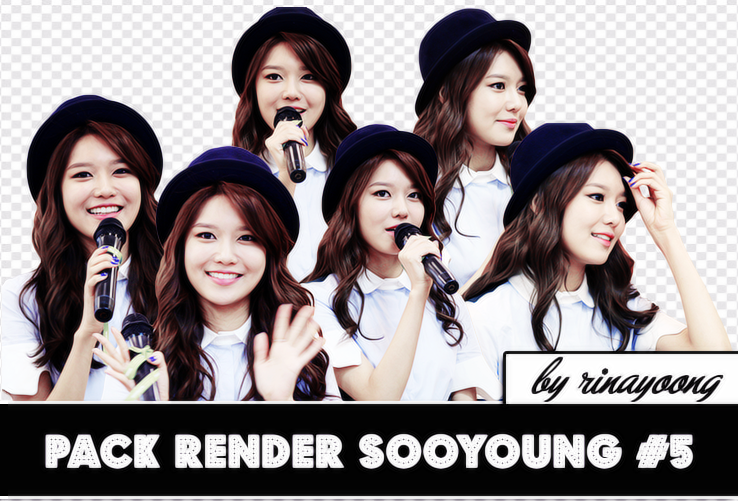 [210614] Pack Sooyoung Render @ Double M Event #5 by rinayoong