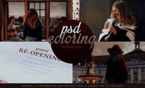 PSD Coloring: Memories