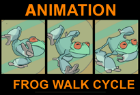 Frog Walk Cycle by SocsAnimations