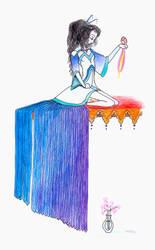 Princess Blue Wing