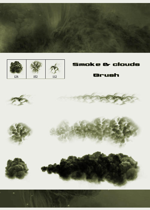 Smoke and Clouds Brush by Wen-JR