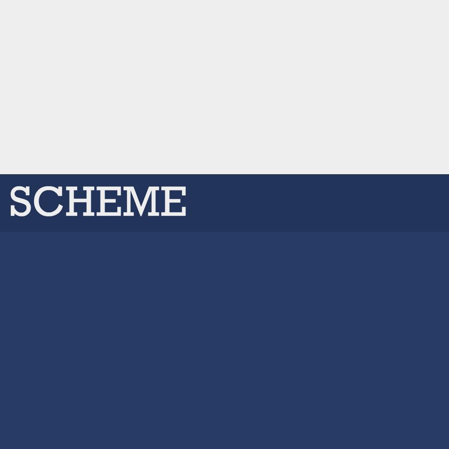 SCHEME: A Graphic Design Portfolio by bl3u by bl3uanims