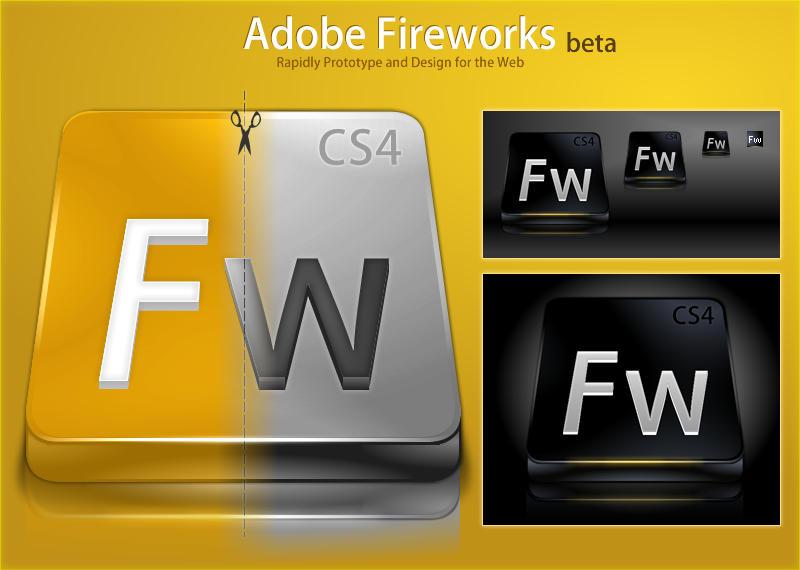 Adobe Fireworks CS4 by DragonXP