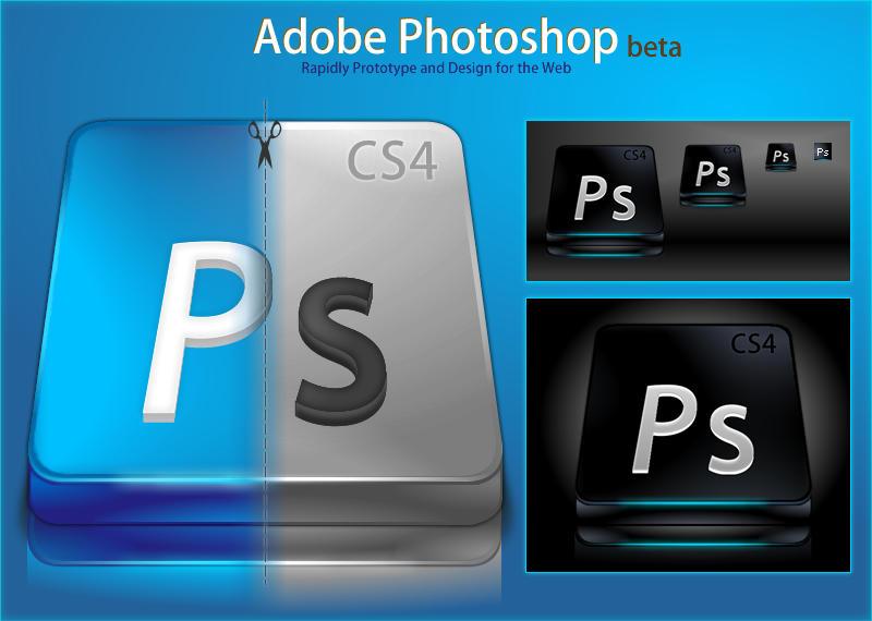 Adobe Photoshoop CS4 by DragonXP - Ücretsiz Photoshop Simgeleri