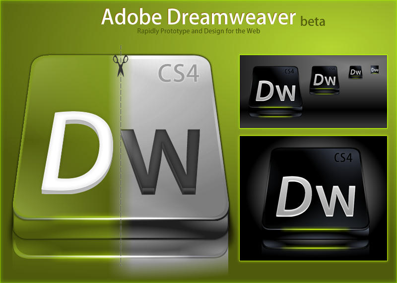 Adobe Dreamweaver CS4 by DragonXP