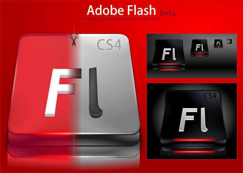 Adobe Flash CS4 by DragonXP