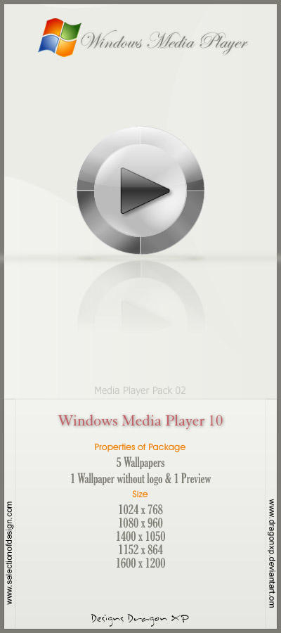 Windows Media Player by DragonXP