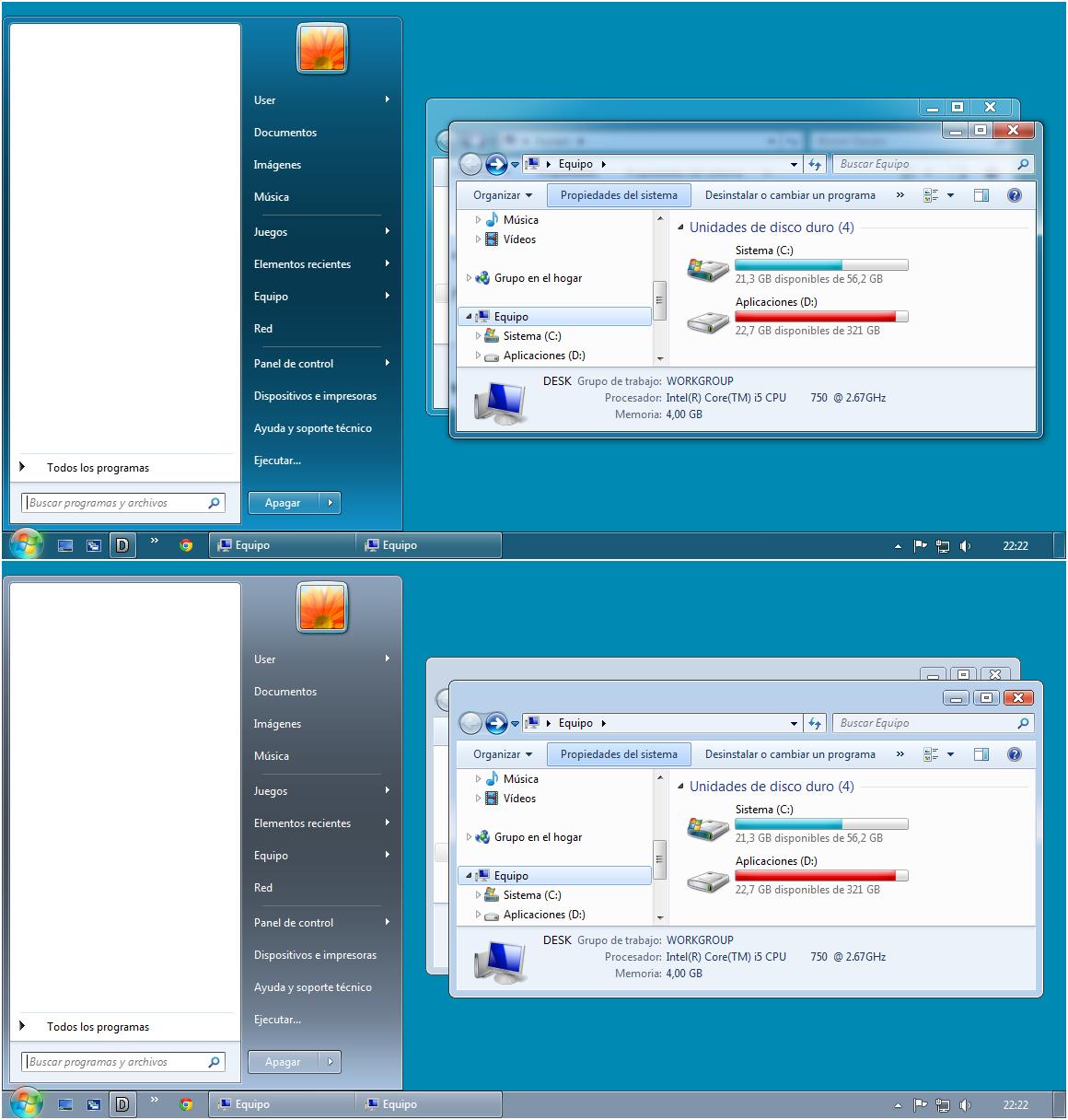 Windows Aero 7.3 by leosss