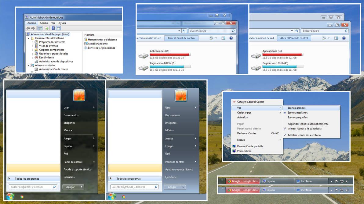 Windows Aero 7.4