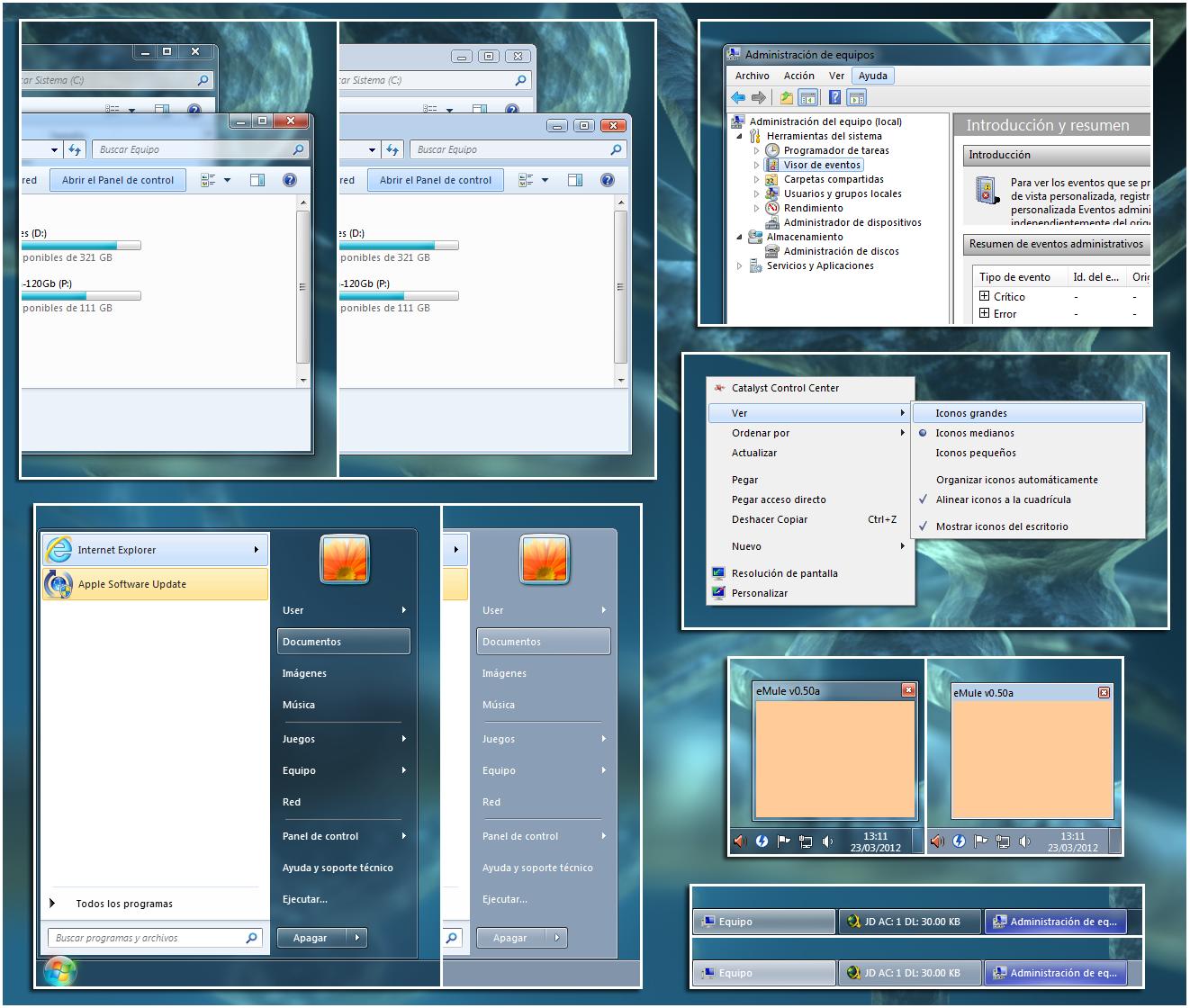 Windows Aero 7.5 by leosss