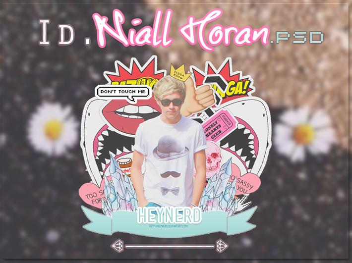 ID  Niall Horan.PSD by HeyNerd