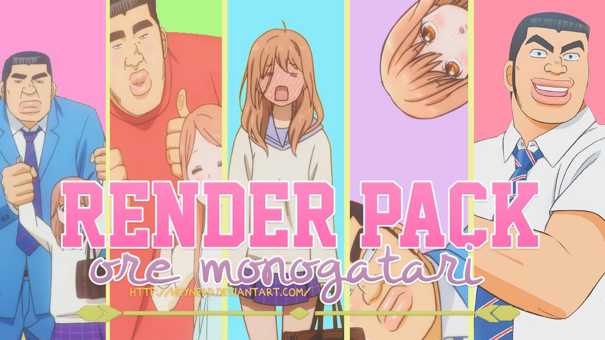 Ore Monogatari Png Pack by HeyNerd