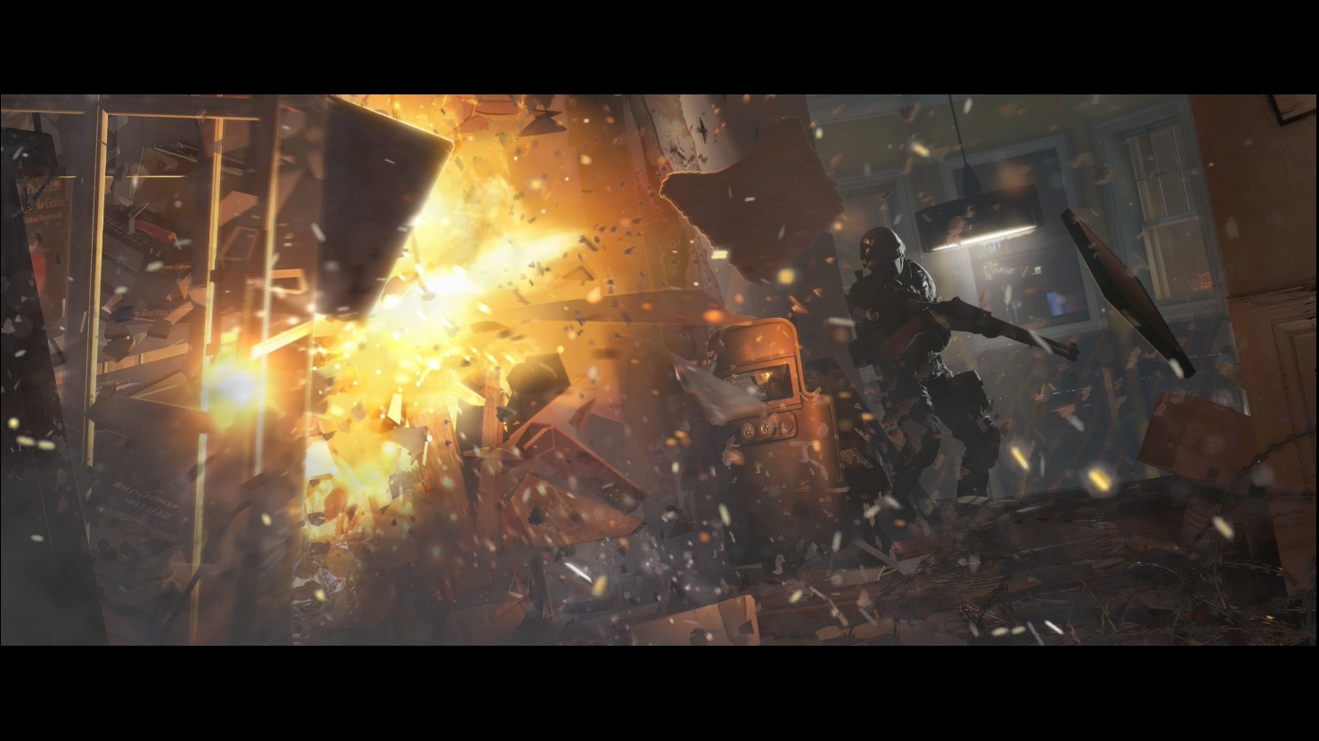 Rainbow Six Siege 4k Video Live Wallpaper By Ice Wind Wolf On