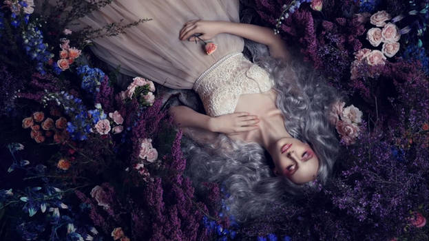 Flower Fairy Live wallpaper