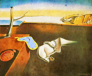 Salvador Dali picture animation