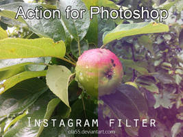 Instagram Photoshop Action 1