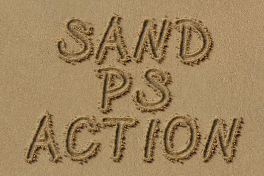 action sand text PL ENG