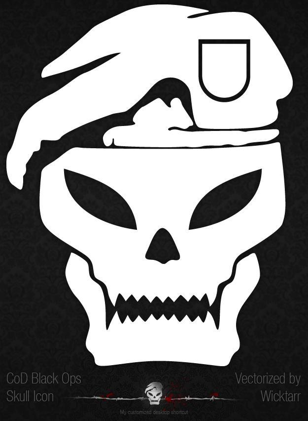 cod black ops skull iconwicktarr on deviantart