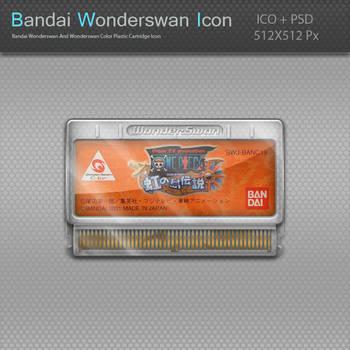 Bandai Wonderswan Plastic Cartridge Icon